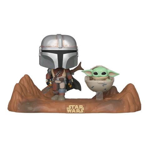 Star Wars: The Mandalorian - Mandalorian & Child Movie Moment Pop! Vinyl