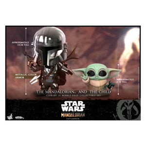 Star Wars: The Mandalorian - Mandalorian and the Child Cosbaby Set