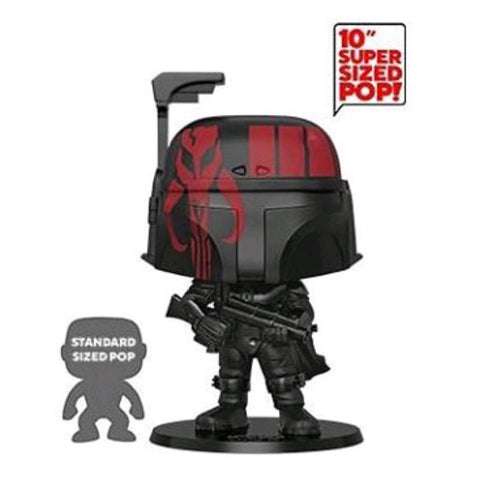 "Star Wars - Boba Fett Black US Exclusive 10"" Pop! Vinyl"