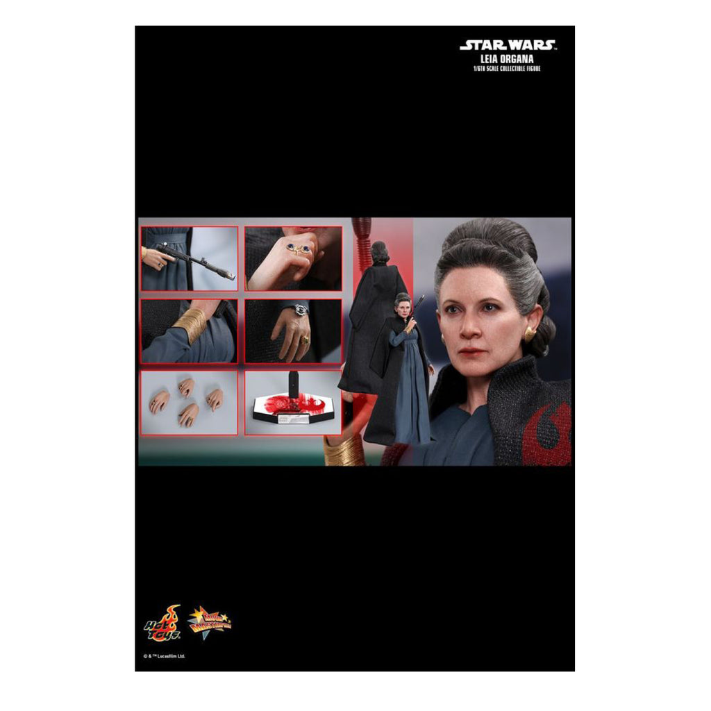 "Star Wars - Leia Organa Episode VIII The Last Jedi 12"" 1:6 Scale Action Figure"
