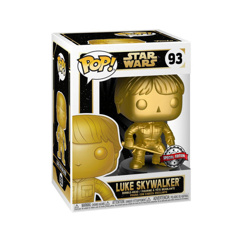 Star Wars - Luke Skywalker Gold Pop! Vinyl