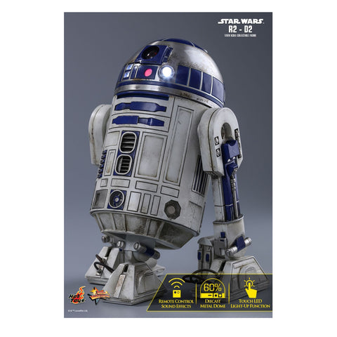 Image of Star Wars - R2-D2 Episode VII The Force Awakens 1:6 Scale Action Figure