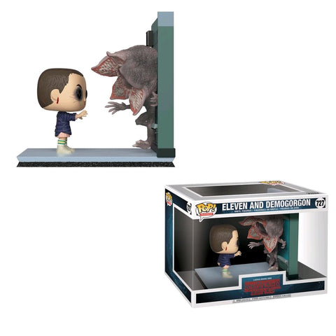 Stranger Things - Eleven And Demogorgon Movie Moment Pop! Vinyl