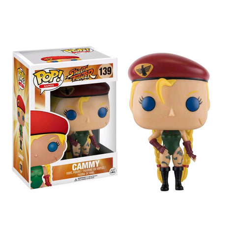 Street Fighter - Cammy Pop Vinyl