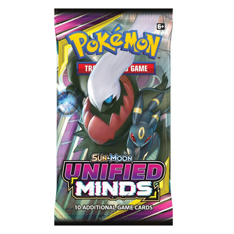 Image of POKÉMON TCG Unified Minds Booster
