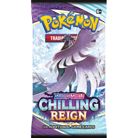POKEMON TCG Sword and Shield - Chilling Reign Booster
