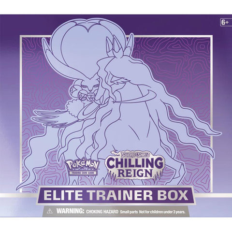 POKEMON TCG Sword and Shield - Chilling Reign Elite Trainer Box