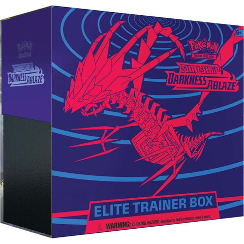 POKEMON TCG Sword and Shield- Darkness Ablaze Trainer Box