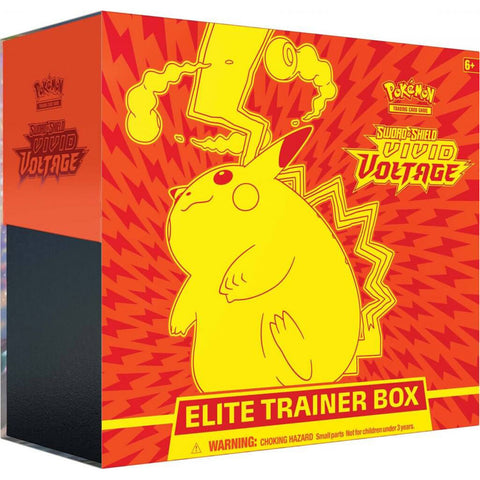POKEMON TCG Sword and Shield- Vivid Voltage Elite Trainer Box