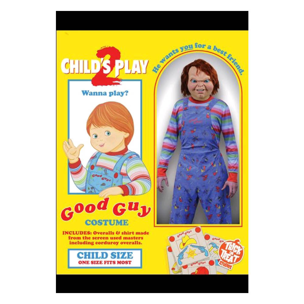 Child's Play 2 - Deluxe Good Guy Costume Child
