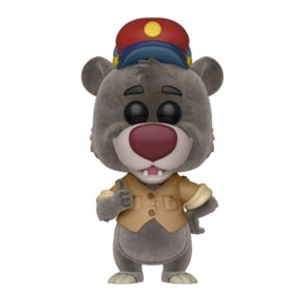 TaleSpin - Baloo Flocked US Exclusive Pop Vinyl