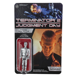 Terminator 2: Judgement Day - T-1000 Climax Scene SDCC 2015 US Exclusive ReAction Figure