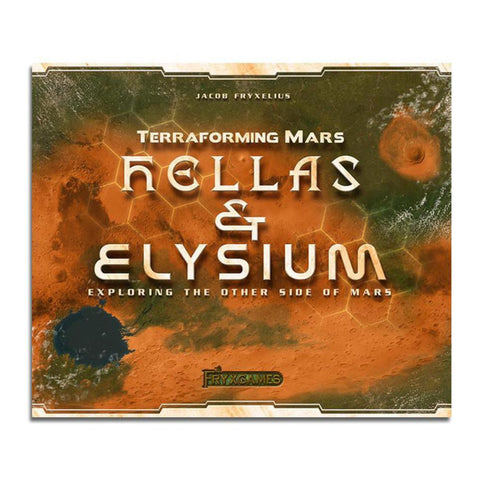 Image of Terraforming Mars Hellas And Elysium