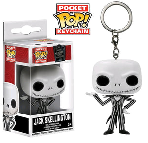 Nbx - Jack Skellington Pocket Pop Vinyl Keychain