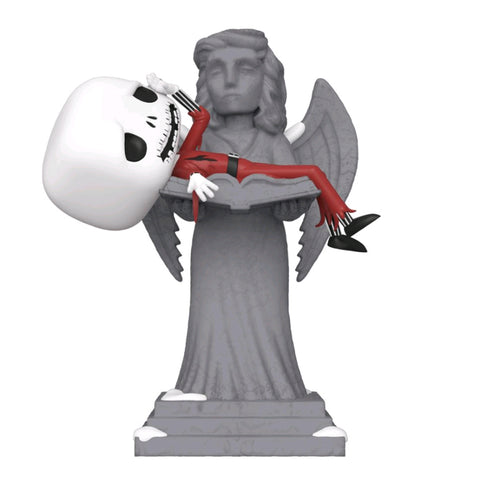 Image of The Nightmare Before Christmas - Jack on Angel Statue Movie Moment Pop! Vinyl [RS]