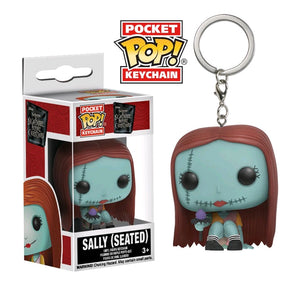The Nightmare Before Christmas - Sally Seated Pocket Pop! Keychain