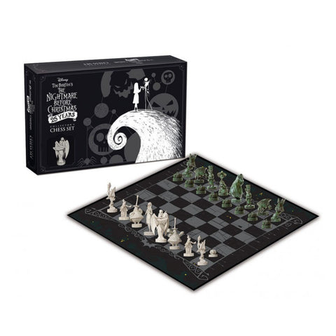 Image of The Nightmare Before Christmas 25 Years Chess