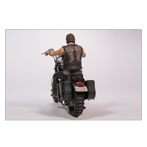 Image of The Walking Dead - Daryl Dixon with Chopper Action Figure Set