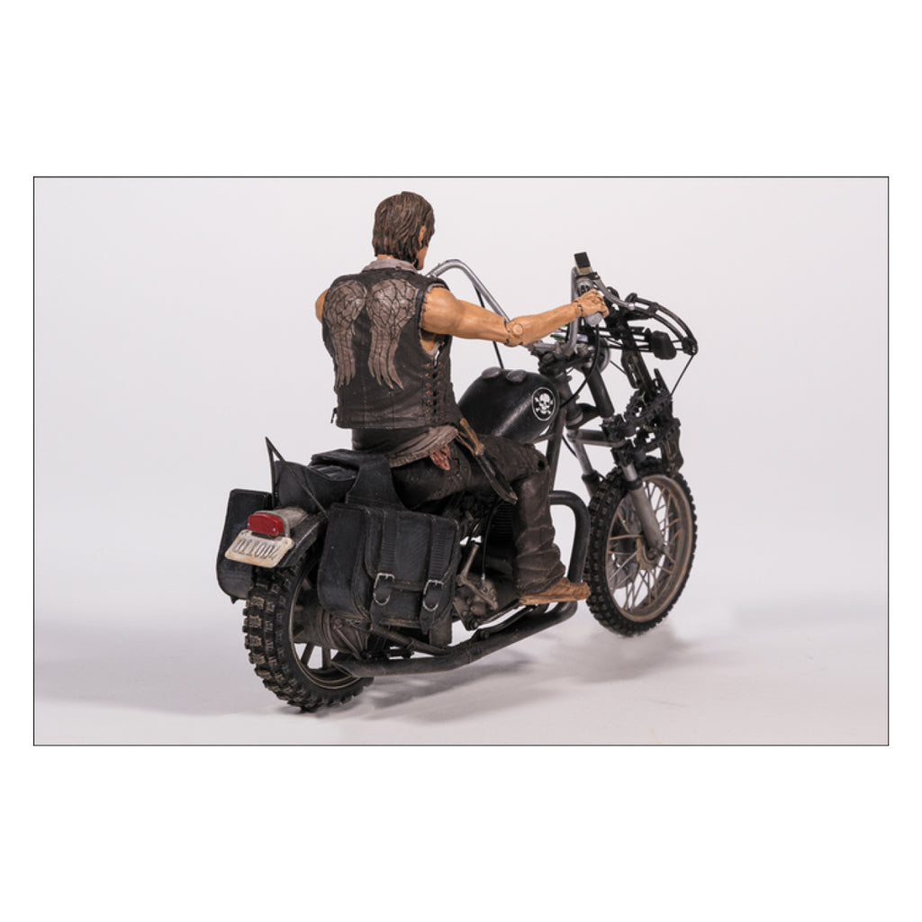 The Walking Dead - Daryl Dixon with Chopper Action Figure Set