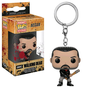 The Walking Dead - Negan Bloody Pocket Pop! Keychain