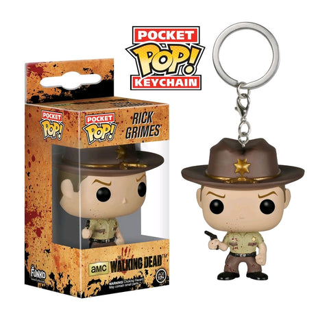 The Walking Dead - Rick Bloody US Exclusive Pocket Pop! Keychain
