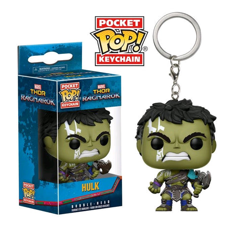 Thor 3 - Hulk Pocket Pop Vinyl Keychain