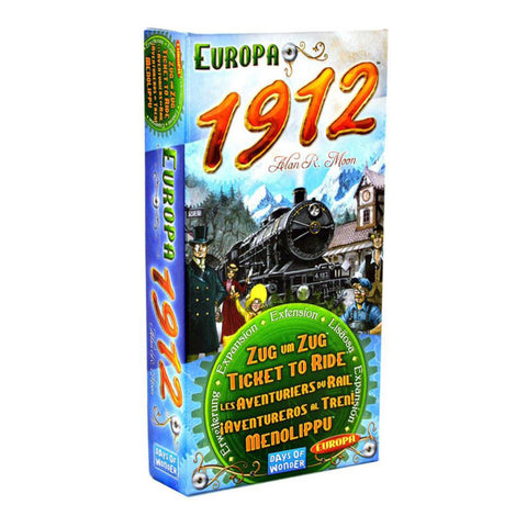 Ticket To Ride Europa 1912 Expansion