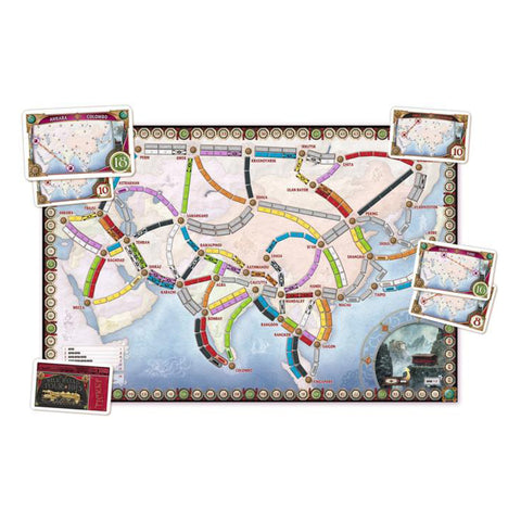 Image of Ticket To Ride Map Collection Vol 1 Asia
