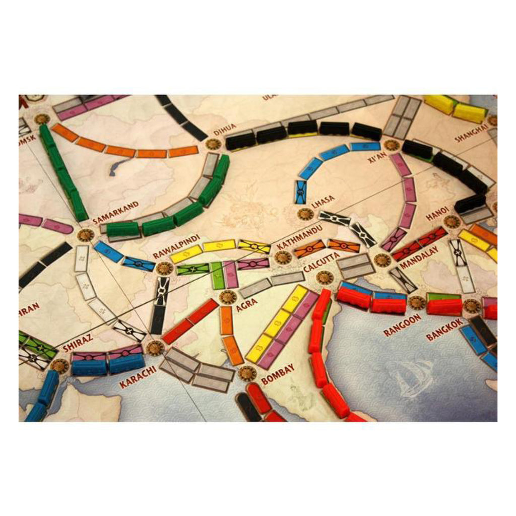 Ticket To Ride Map Collection Vol 1 Asia