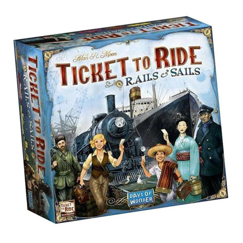 Ticket To Ride Rails and Sails