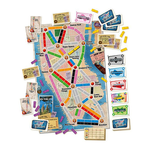 Image of Ticket to Ride New York
