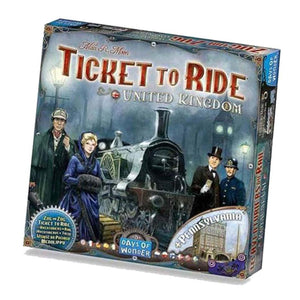 Ticket to Ride United Kingdom Expansion