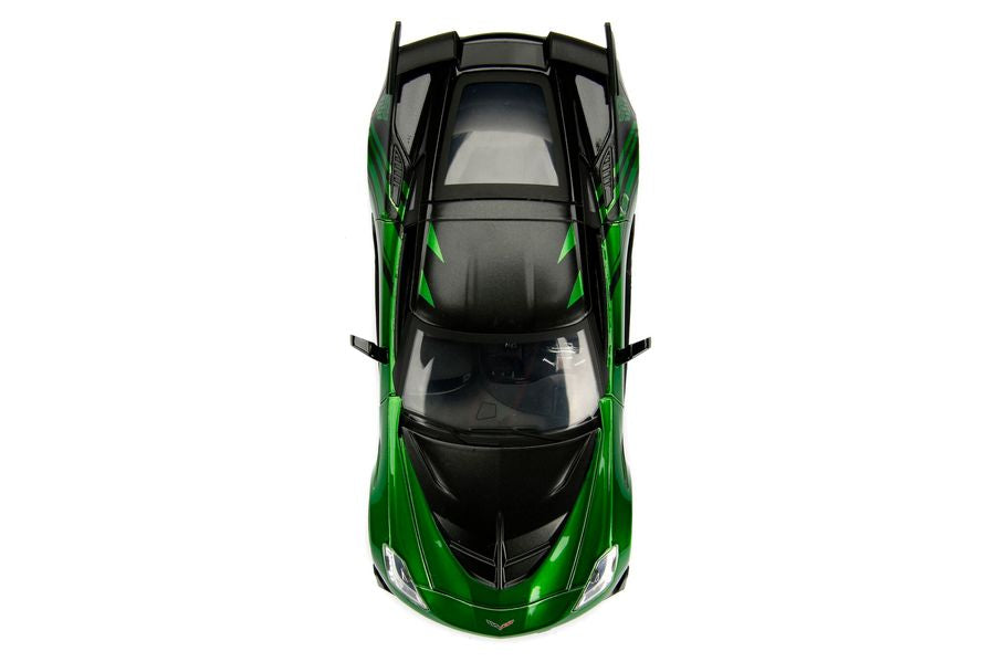 Transformers - Chevy Corvette Stingray Crosshairs 1:24 Hollywood Ride