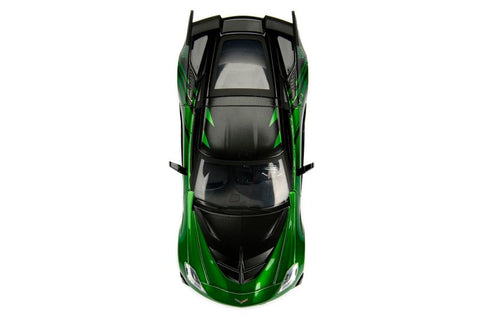 Image of Transformers - Chevy Corvette Stingray Crosshairs 1:24 Hollywood Ride
