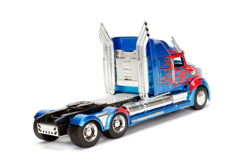 Image of Transformers - Optimus Western Star 1:24 Hollywood Ride