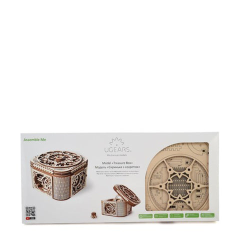 Ugears Treasure Box