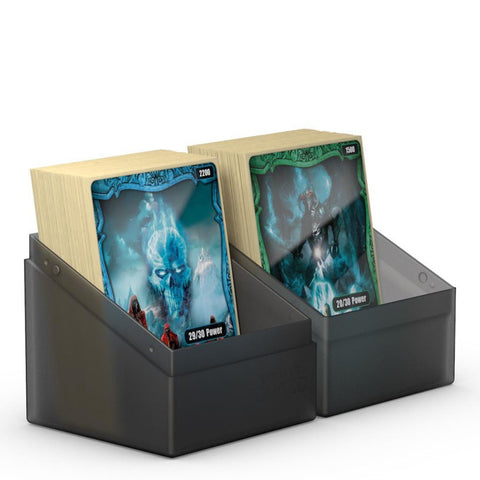 Ultimate Guard Boulder Deck Case 80+ Standard Size Onyx