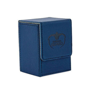 Ultimate Guard Flip Deck Case 80+ XenoSkin Blue Deck Box