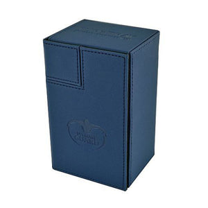 Ultimate Guard Flip'n' Tray Deck Case 80+ XenoSkin Blue DeckBox