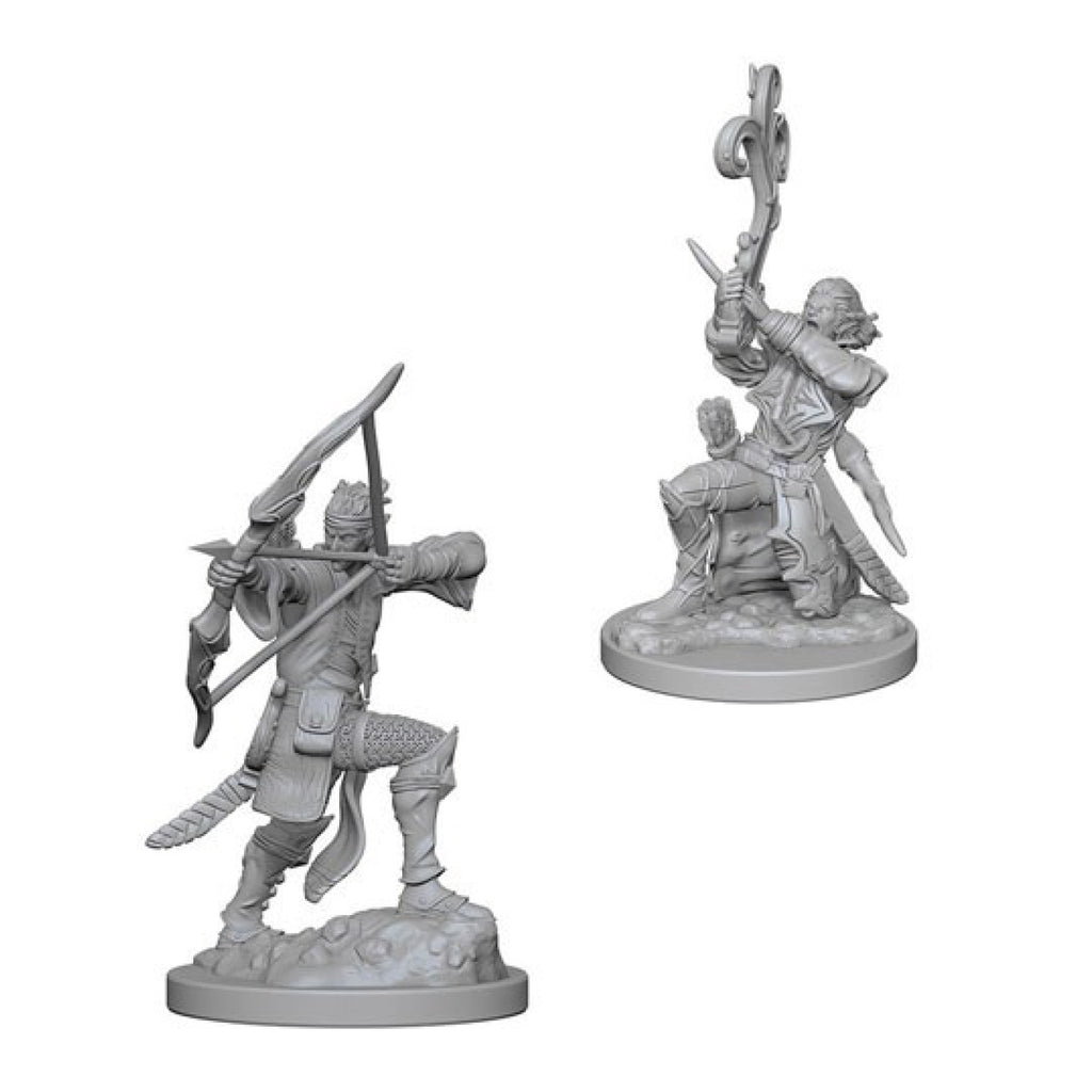 Dungeons And Dragons Unpainted Minis Elf Male Bard