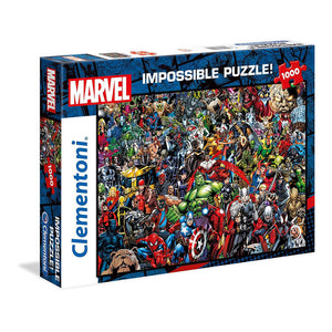Clementoni Puzzle Marvel Impossible Puzzle 1000 Pieces
