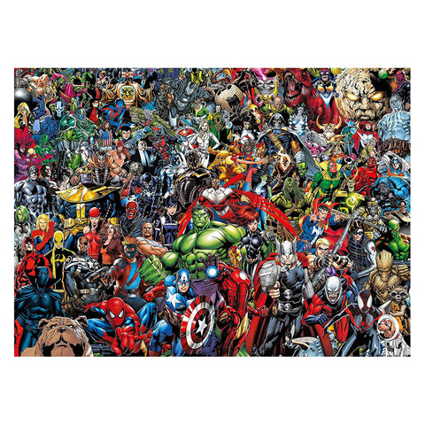 Image of Clementoni Puzzle Marvel Impossible Puzzle 1000 Pieces