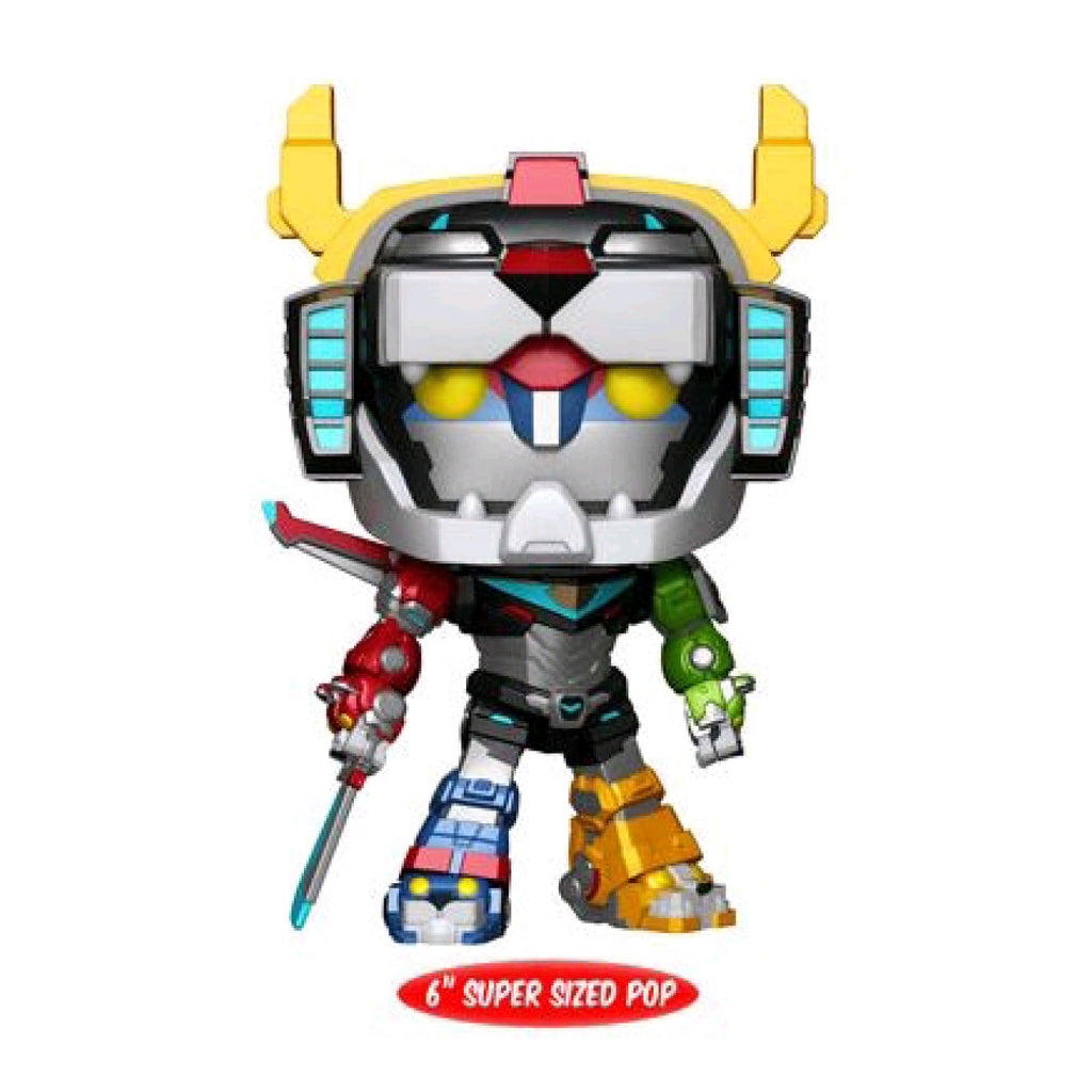Voltron - Voltron Metallic 6 Inch US Exclusive Pop! Vinyl