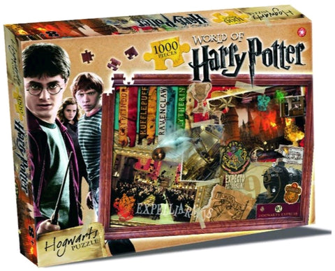 Harry Potter - Hogwarts 1000 piece Puzzle