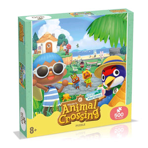 Animal Crossing - Puzzle 500 Piece Jigsaw Puzzle