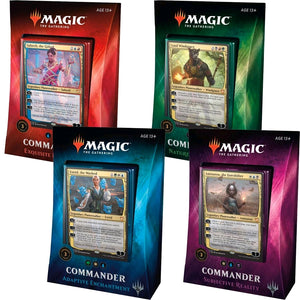 Magic the Gathering - Commander Multiplayer Pack 2018 (please select your deck in the checkout comments)