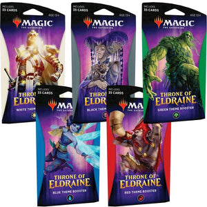Magic Throne of Eldraine Theme Booster Display