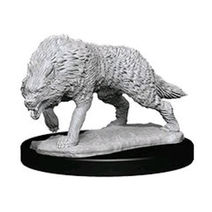 WizKids - Unpainted Timber Wolves