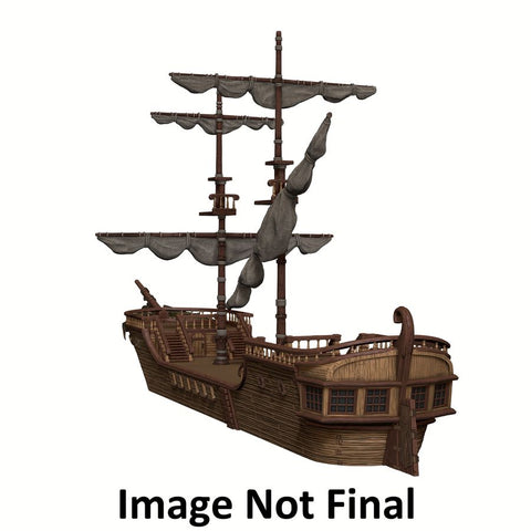 Dungeons & Dragons - Icons of the Realms The Falling Star Sailing Ship