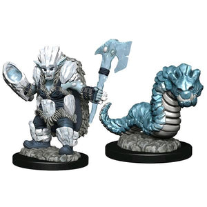 Wardlings - Ice Orc & Ice Worm Pre-Painted Mini